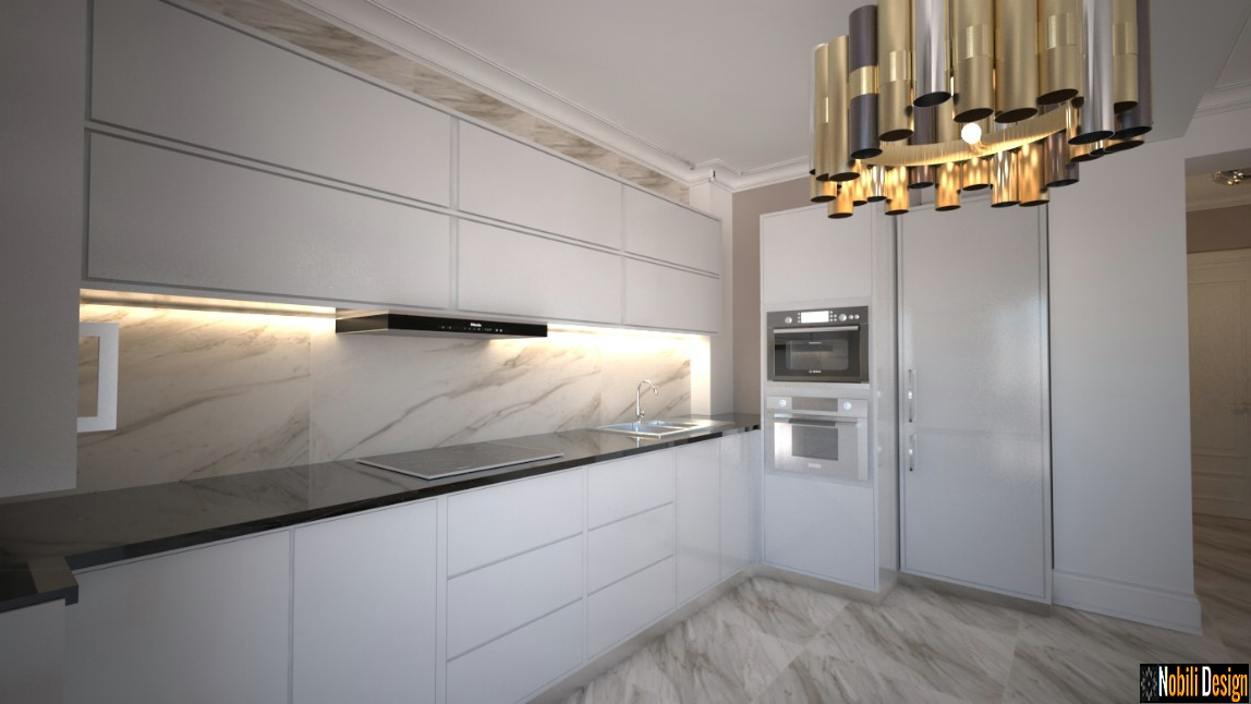 design interior apartament clasic modern - Design interior bucatarie.