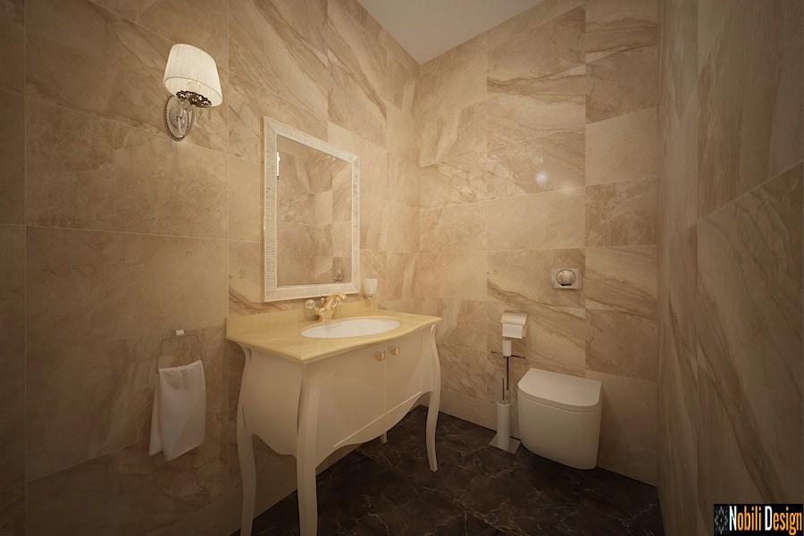 diseño de baño clásico Empresas de diseño de interiores bucuresti.