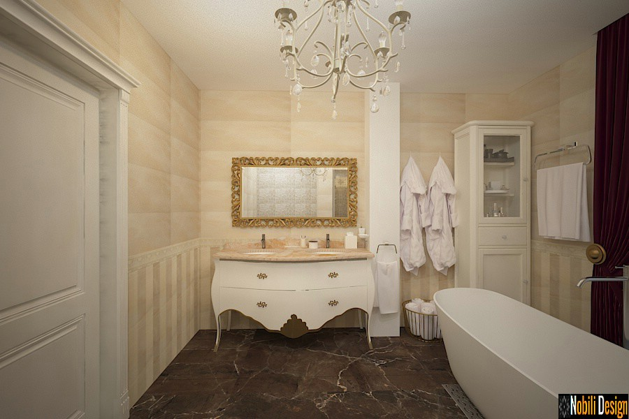 design interior classical bathroom bucharest | Interior design bathroom price.