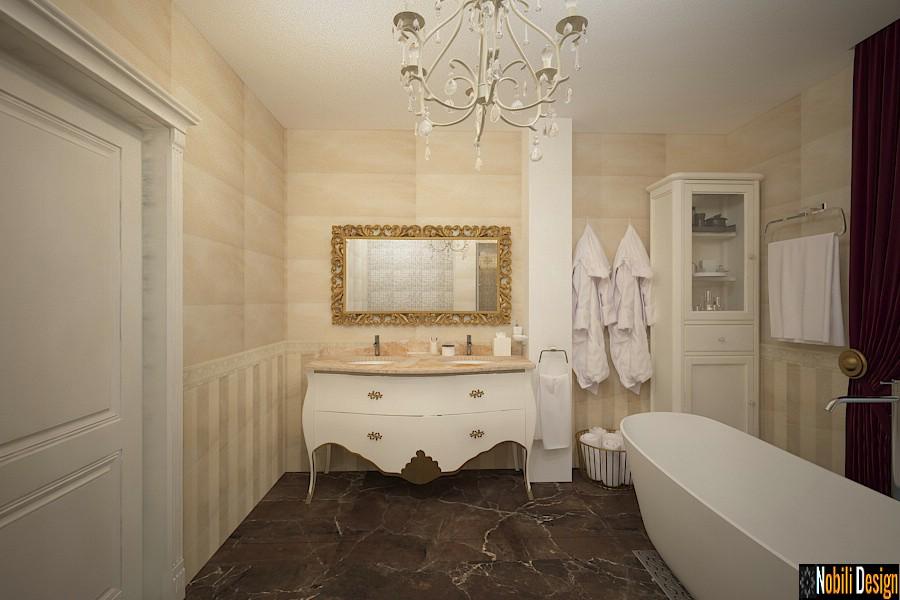 diseño de interiores cuarto de baño clásico bucarest | Precio del baño de diseño interior.