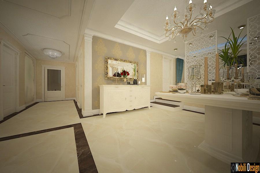 design interno soggiorno classico casa bucarest | Prezzo degli interni di Bucarest.