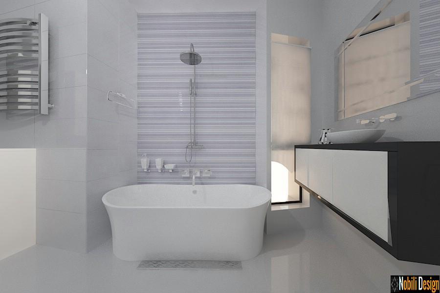 design interior baie casa moderna ploiesti prahova | Amenajare baie moderna pret.
