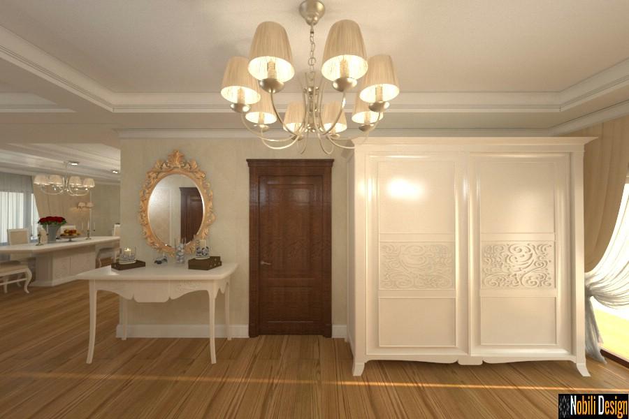 Diseño de interiores de las modernas casas modernas de Giurgiu.