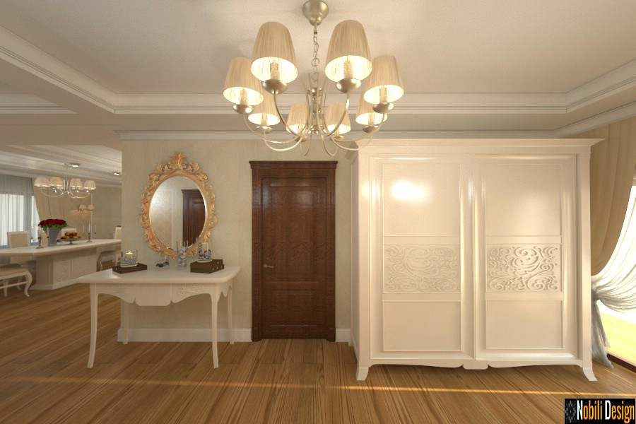 Amenajari interioare case clasic modern Giurgiu.