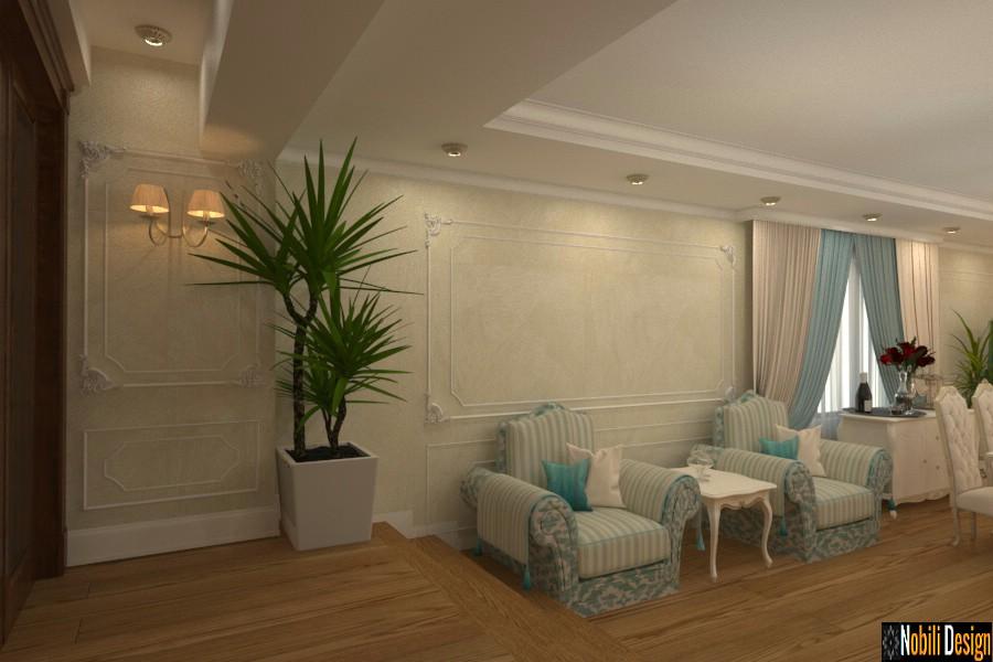 diseño de interiores clásico de lujo casa giurgiu Diseño de interiores de casas con ático Giurgiu.