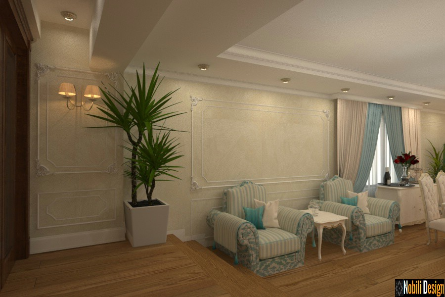 design interior casa clasica de lux giurgiu | Design interior case cu mansarda Giurgiu.