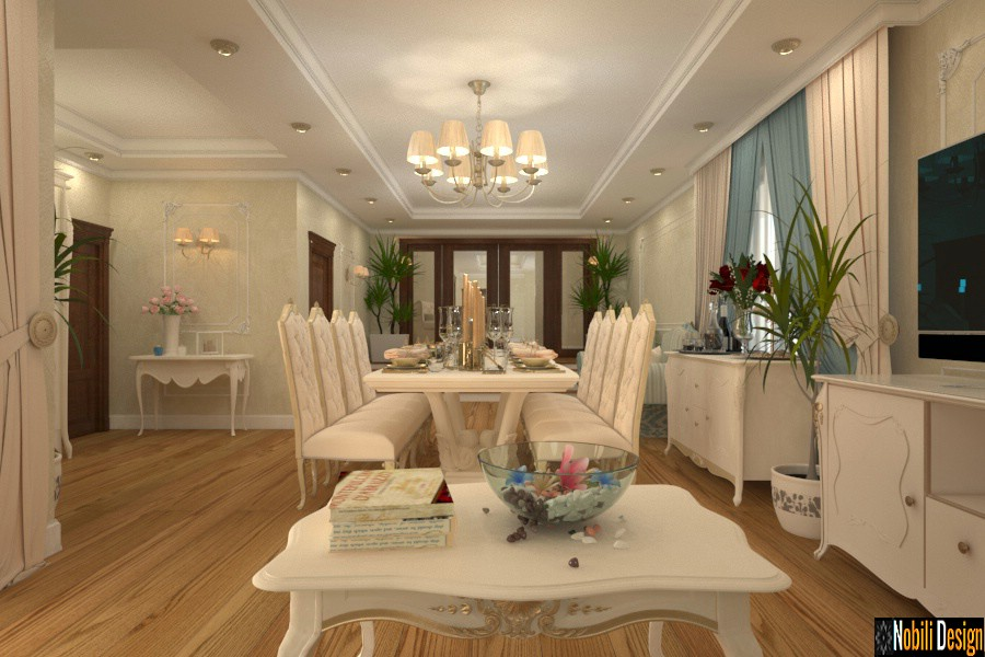 Interior design classic luxury house Giurgiu.
