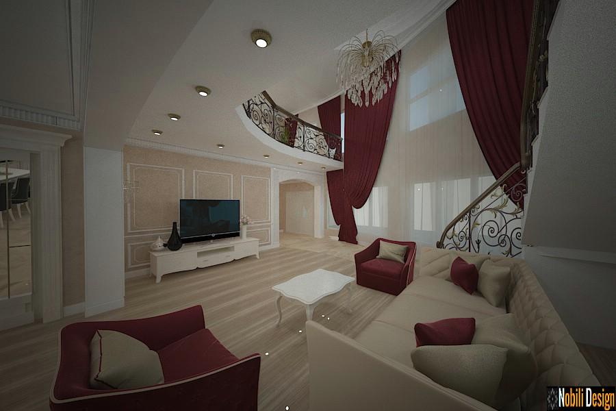 Casa clássica de design de interiores Piatra Neamt