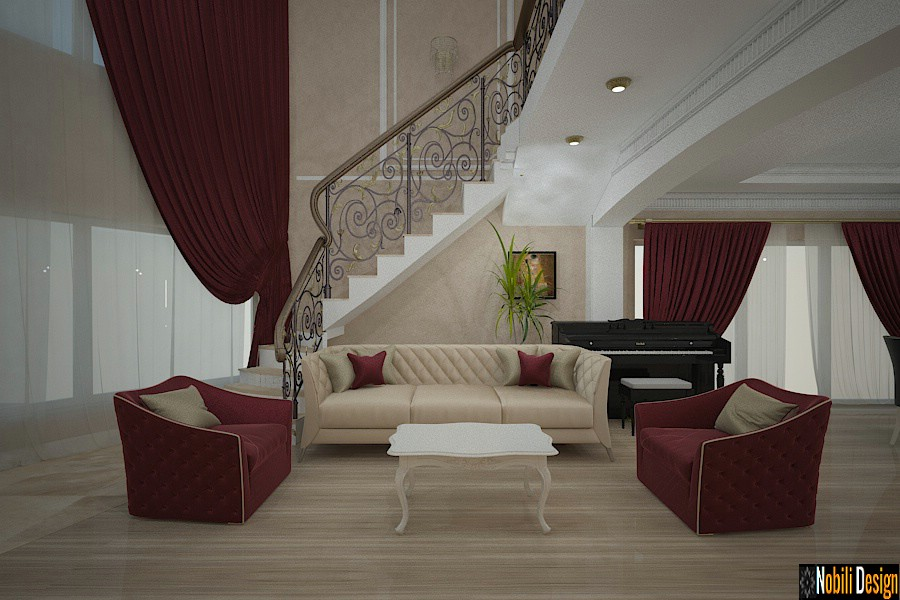 casa de pedra de design de interiores neamt