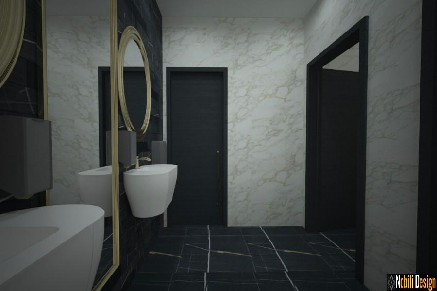 casa de banho de design de interiores moderna