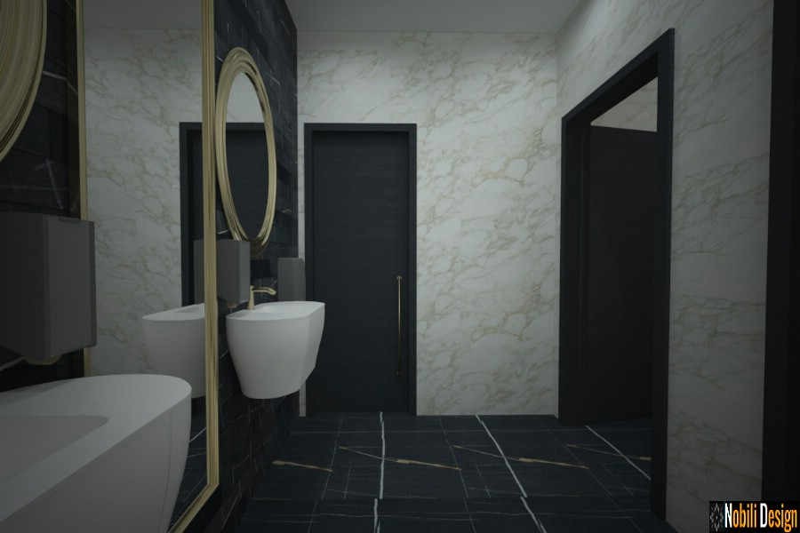 interior design casa bagno moderno
