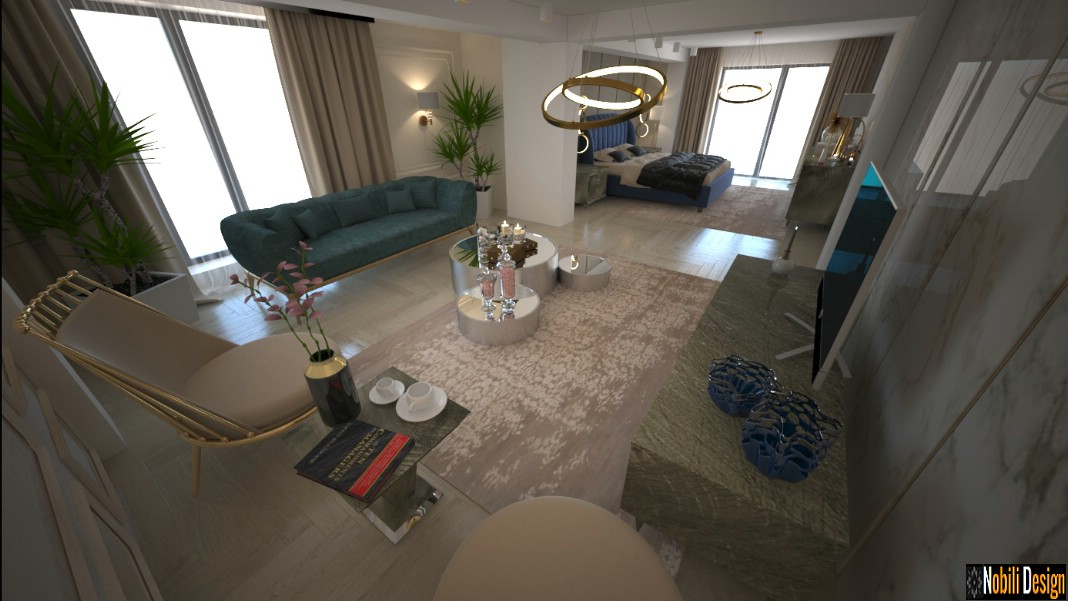 casa di lusso di lusso moderna di interior design 7