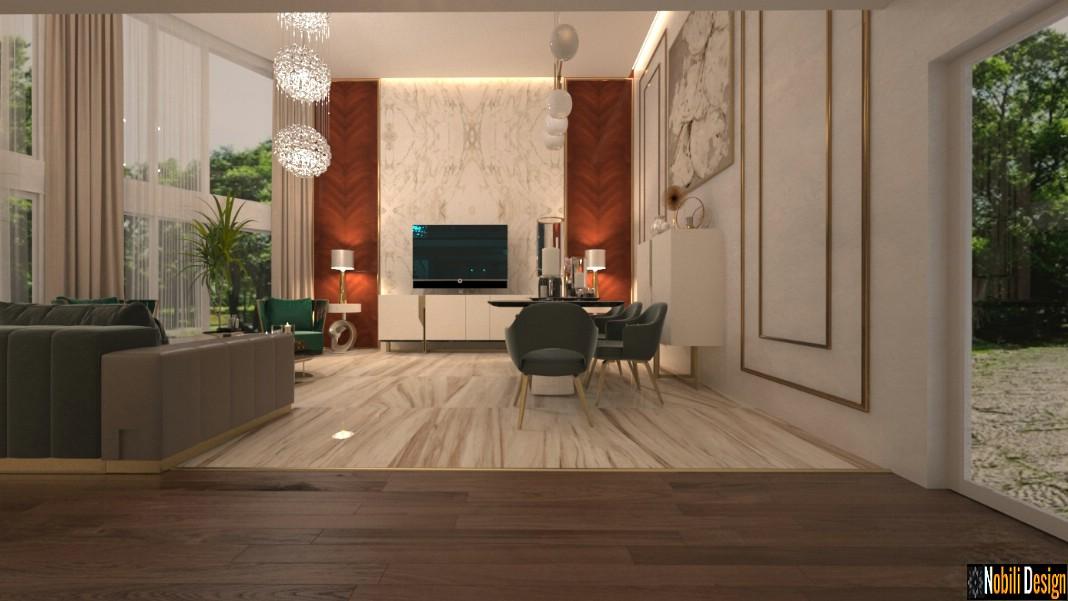 Design interior casa moderna de lux in bucuresti design for Casa moderna design