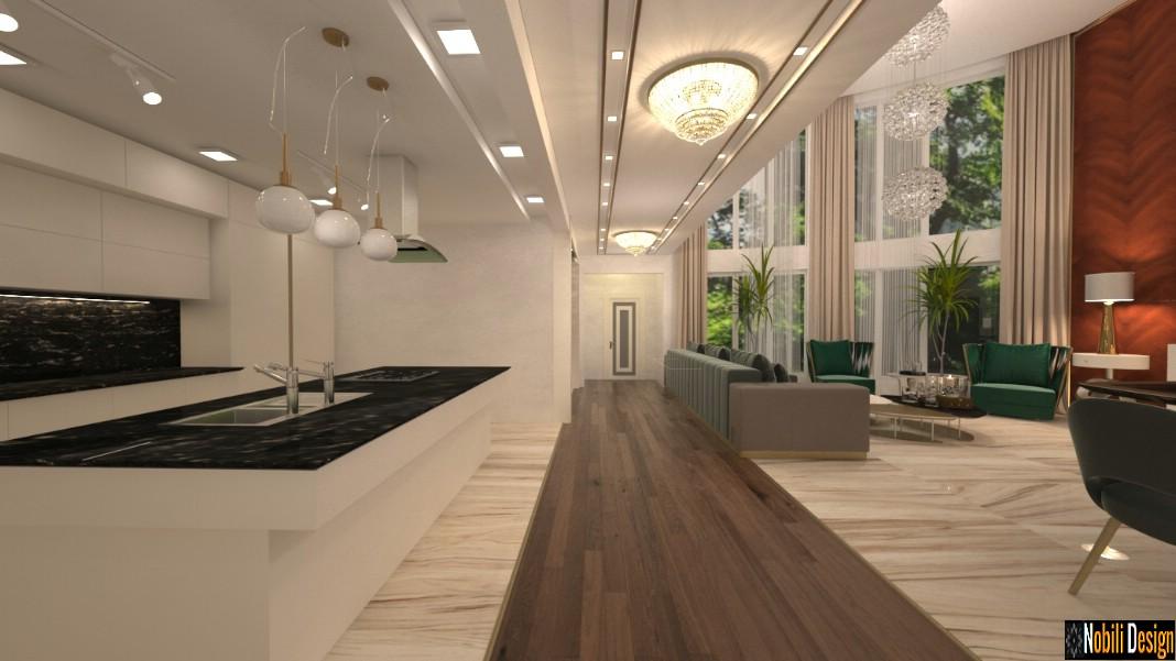 Innenarchitektur modernes Luxushaus Bukarest | Innenraum der modernen Häuser.