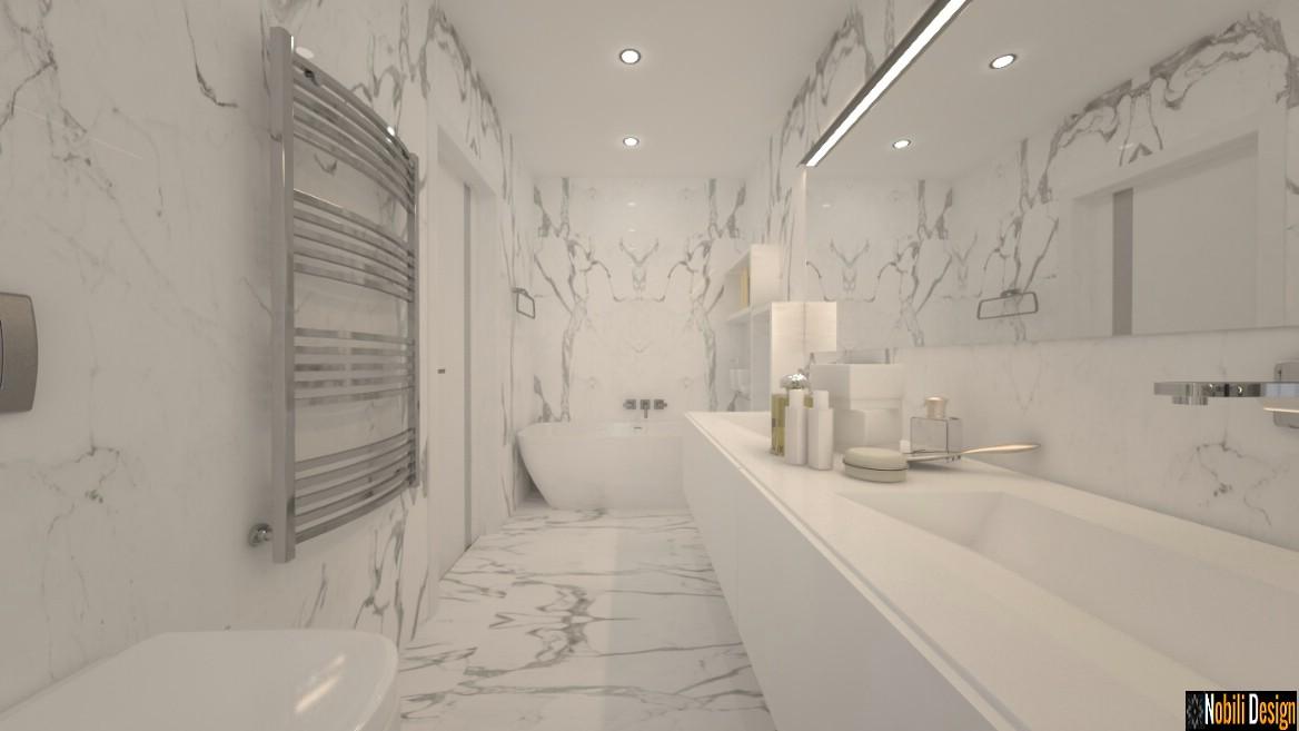 design interior baie matrimoniala de lux | amenajare baie de lux cu gresie si faianta ploiesti.