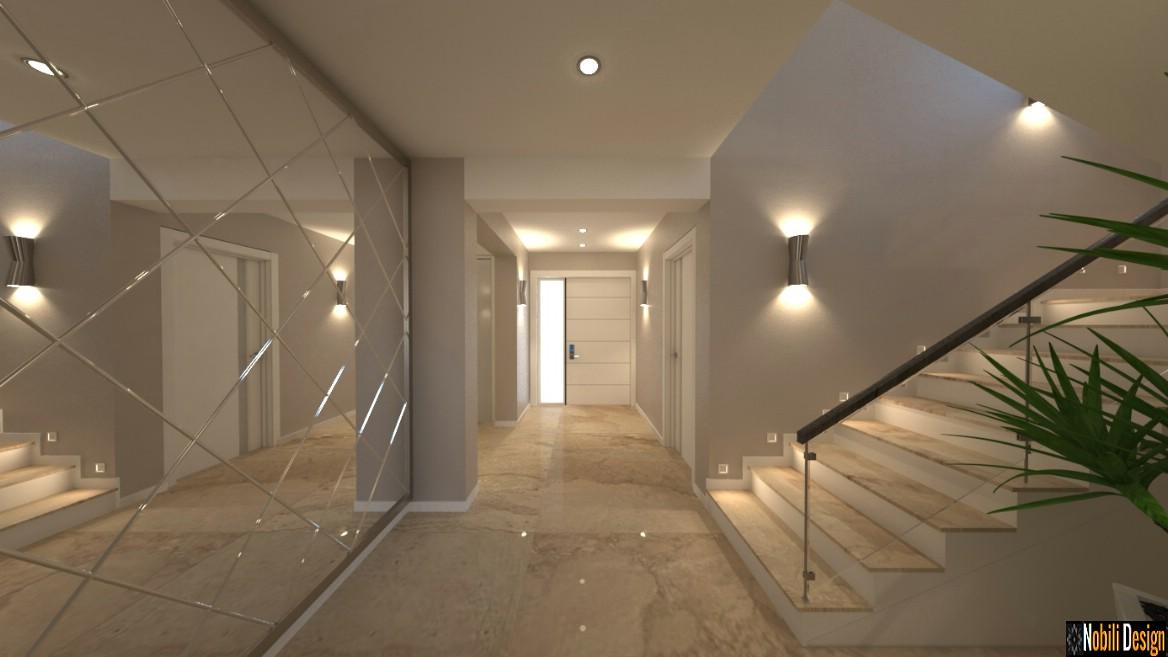 design interior hol casa scarii | amenajari interioare ploiesti pret.