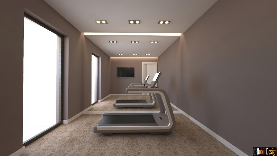design interior sala sport moderna | amenajare sala de sport ploiesti prahova.