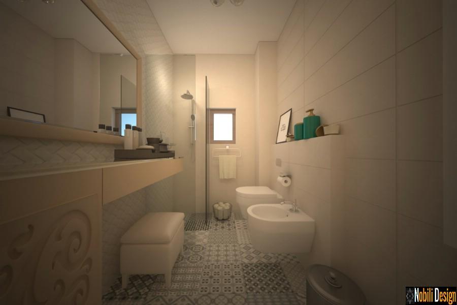design de interiores casas de banho modernas preços galati | Casa moderna do banheiro do design de interiores com o assoalho em Galati.
