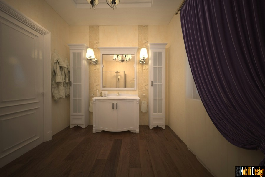 interior design bath house classic galati | Luxury bathroom bathroom in Galati.