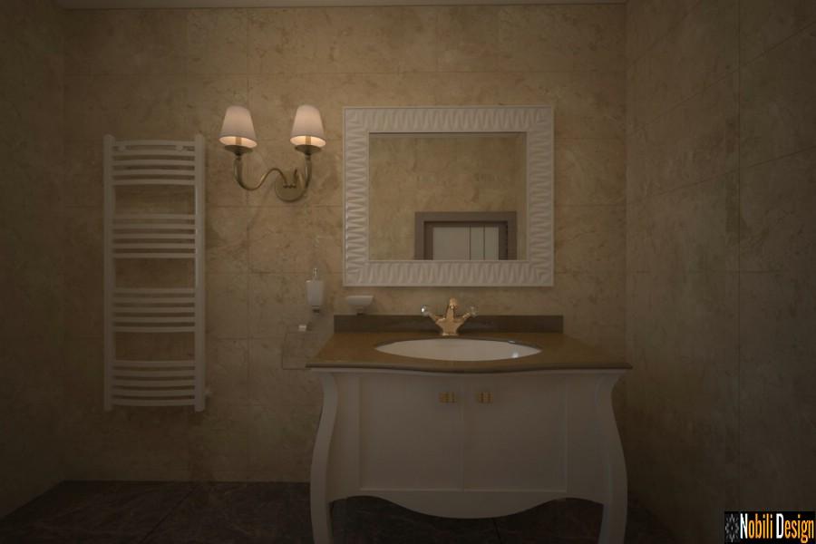 design de interiores clássico banheiro preço | Mobiliário de estilo clássico em Galati.