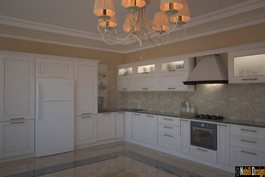 interior design classic kitchen prices Arrangement kitchen classic style house in Galati.
