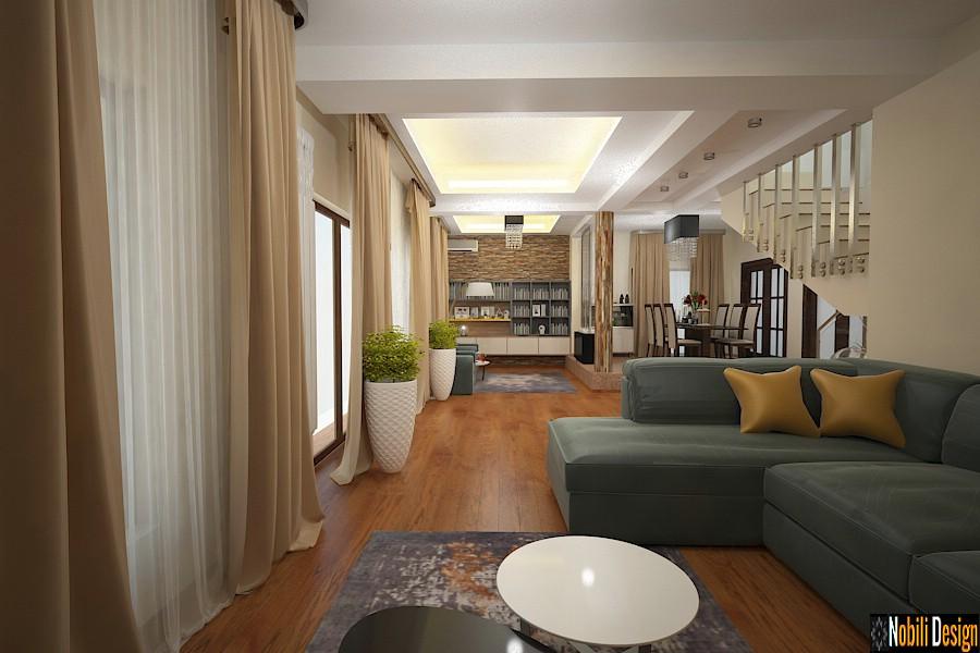 Nobili Interior Design - design interior case cu etaj bucuresti.