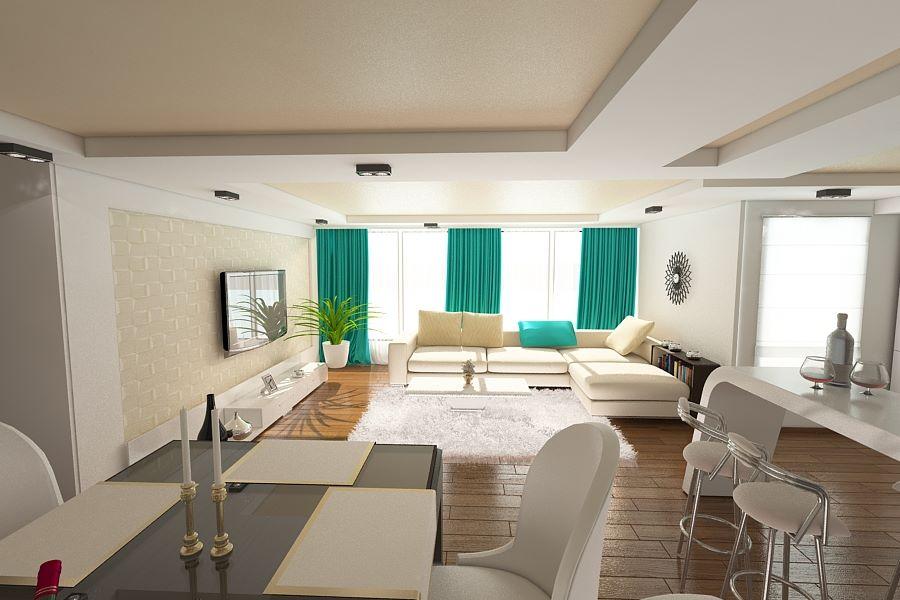 Amenajari apartament 3 camere