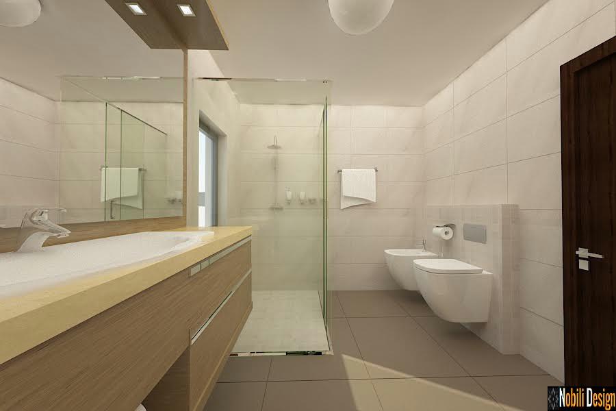 Amenajare - baie - casa - moderna - Sinaia, Ploiesti.