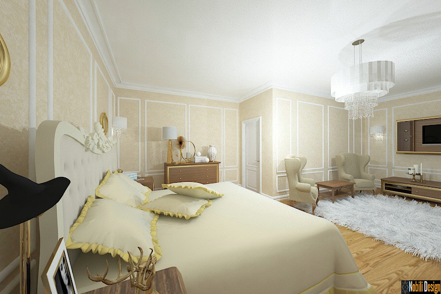 Amenajare - camera - hotel - clasic - Bucuresti.