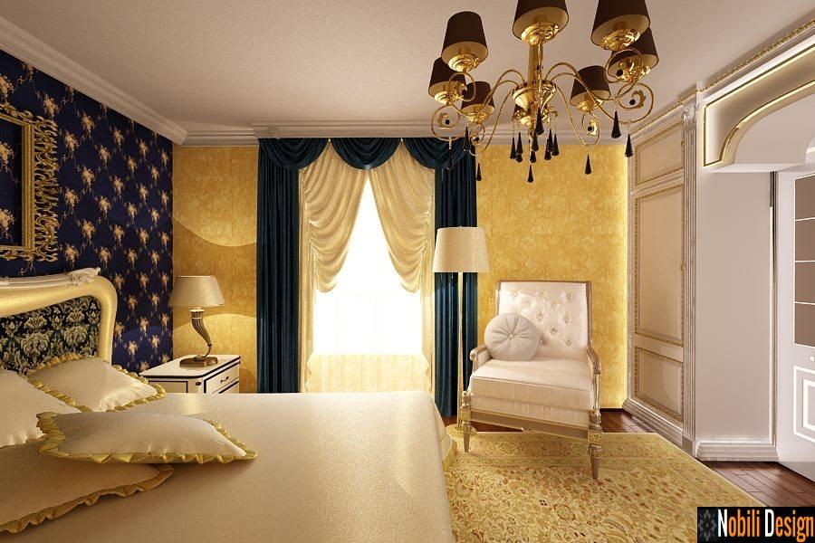 Amenajare interioara dormitor casa de lux for Dizain case interior