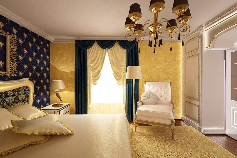 Amenajare interioara dormitor casa de lux for Case interior design
