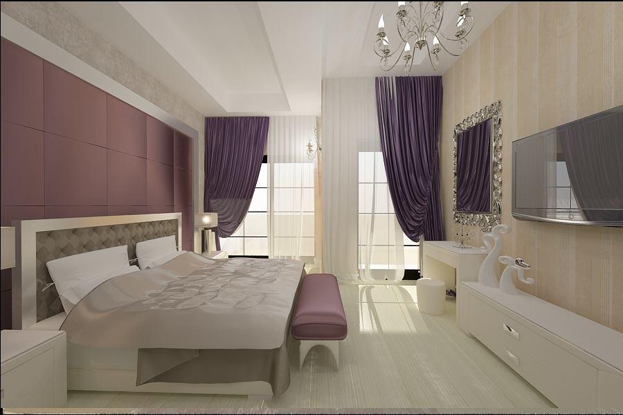 Amenajare interioara dormitor casa de lux for Interioare case moderne