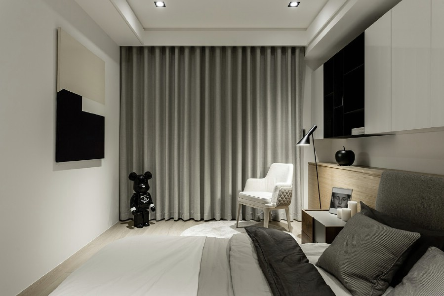 Amenajare - dormitor - casa - moderna - in - bucuresti.