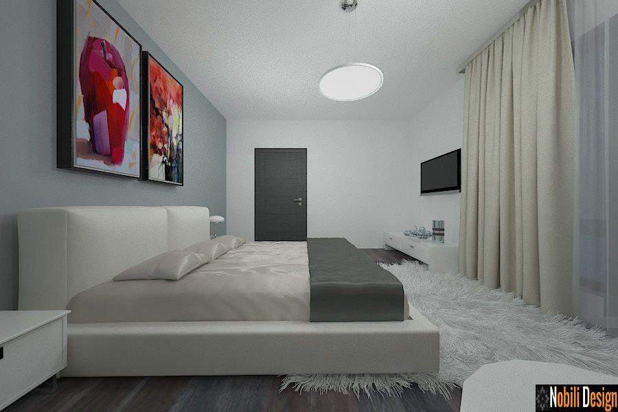 amenajare dormitor casa moderna in constanta