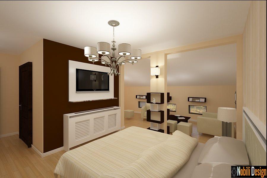 amenajare dormitor mansarda - Constanta