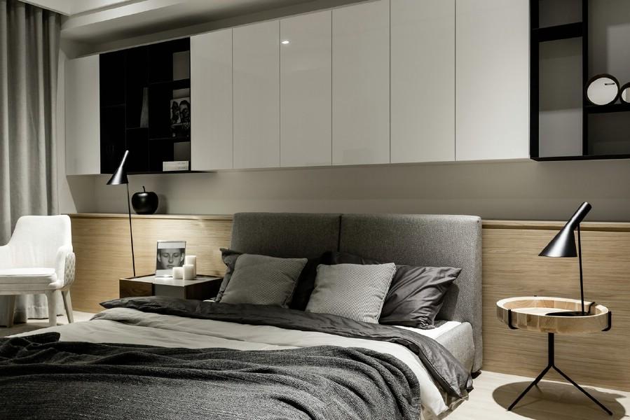 Amenajare - dormitor - vila - moderna - in - bucuresti.