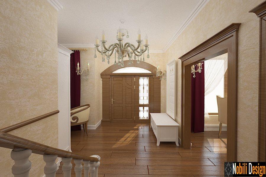 amenajare hol casa stil clasic bucuresti