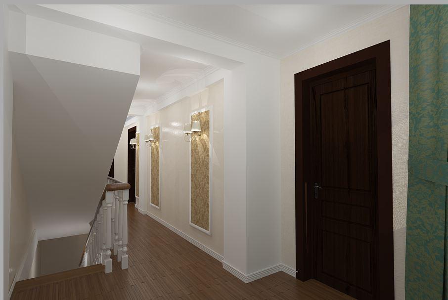 amenajari interioare - amenajare hol casa stil clasic constanta