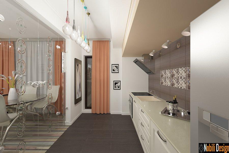 Amenajare - interioara - bucatarie - apartament - 3 camare - galati.