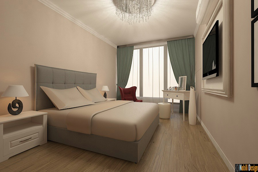 Amenajare - interioara - dormitor - apartament - 3 camere - bucuresti.