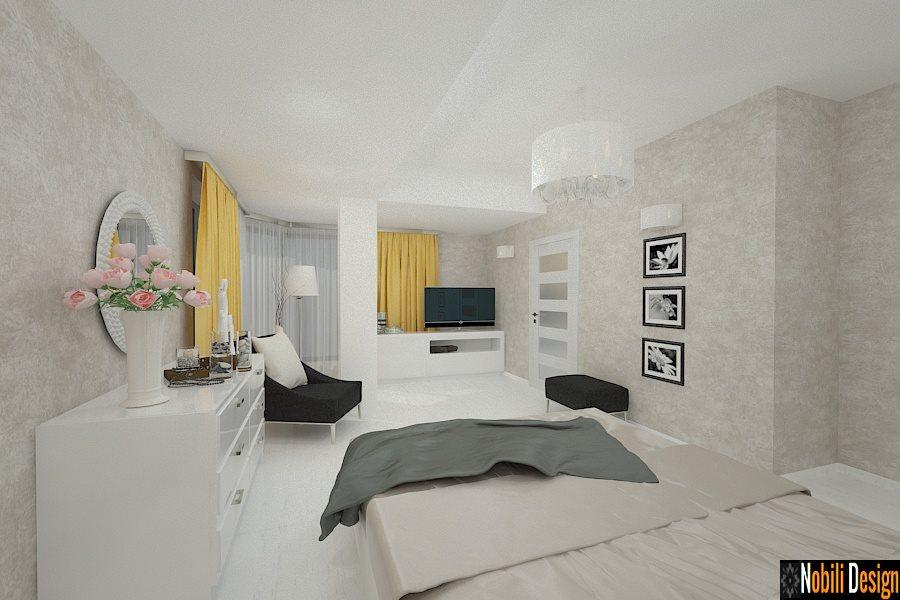 Amenajare - interioara - dormitor - casa - in - Bucuresti - sector 6.