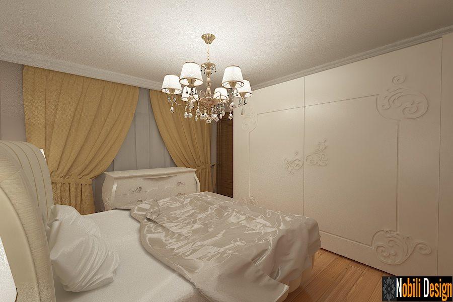 Amenajare - interioara - dormitor - vila - Galati