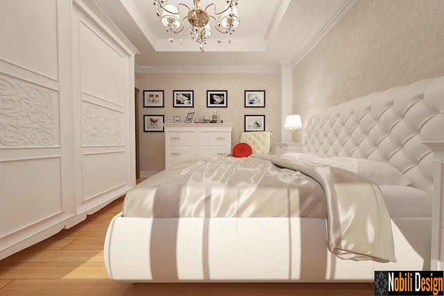 Amenajare - interioara - dormitor - vila - clasica - brasov.