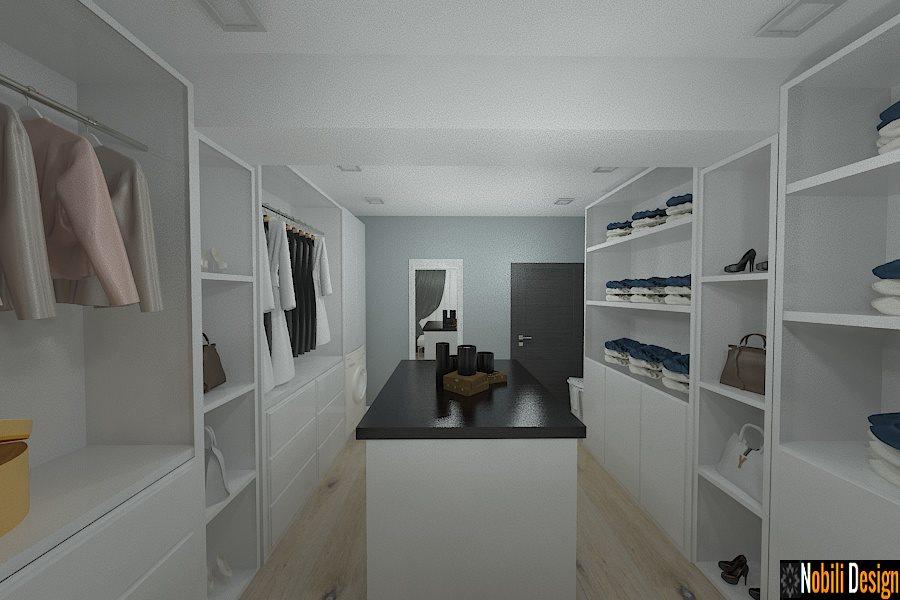 amenajare interioara dresing casa moderna 2016