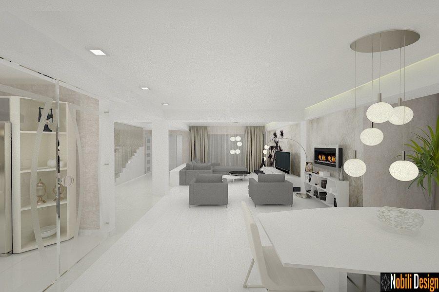 Amenajare - interioara - living - casa - bucuresti - sector 4.