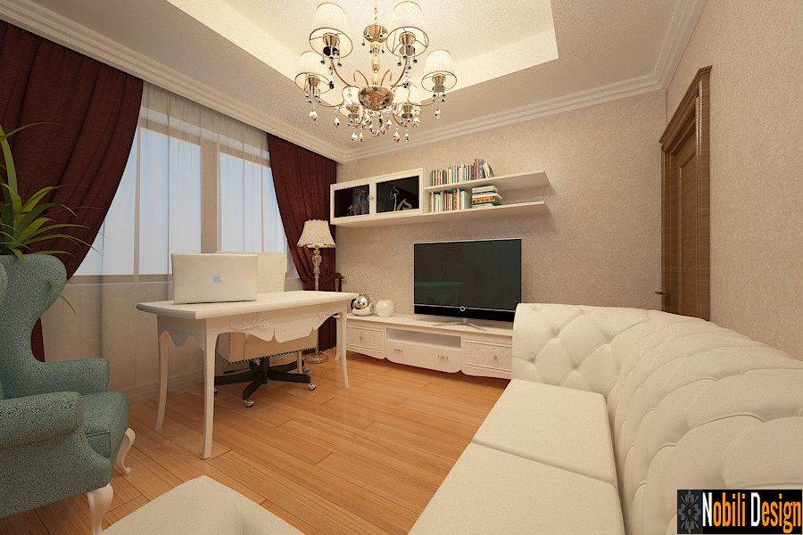 Amenajare - interioara - living - clasic - Galati