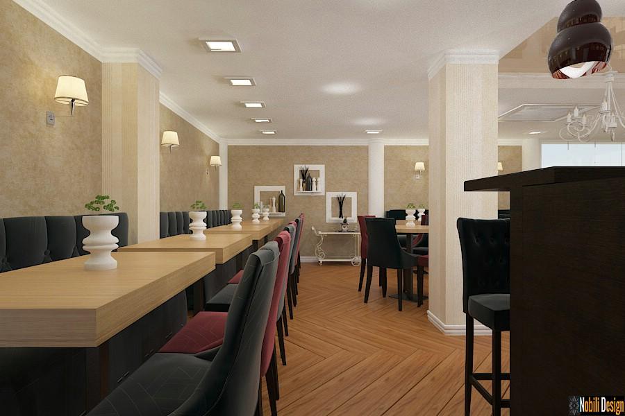 Amenajare - interioara - restaurant - Constanta - 2017.