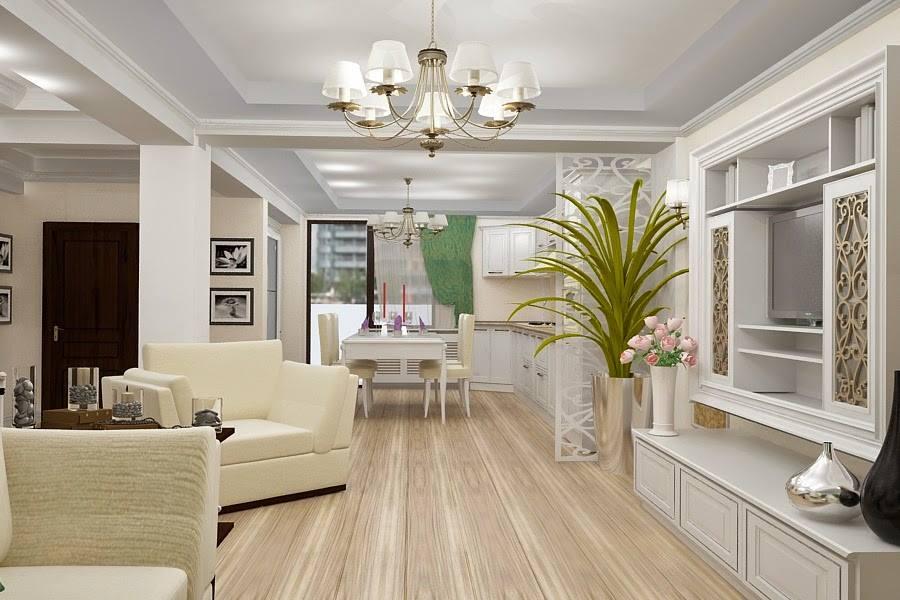 amenajari interioare - amenajare living casa clasica Constanta