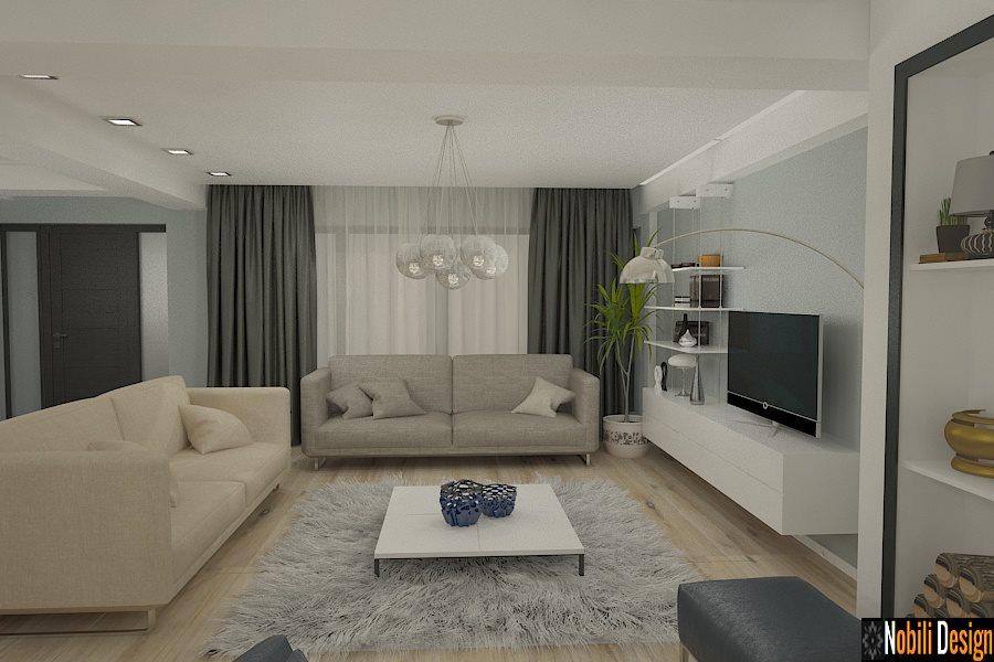 amenajare living casa moderna in constanta