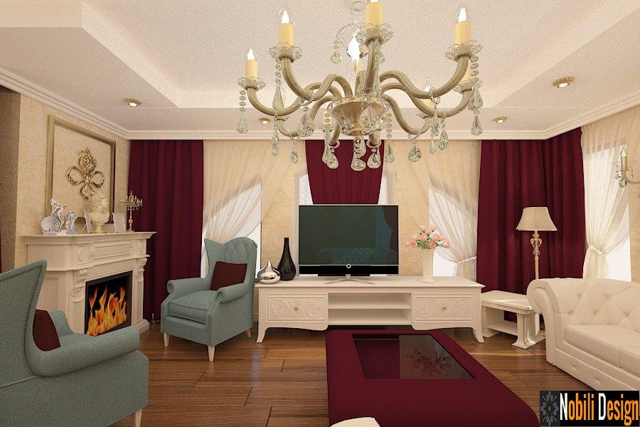 amenajare living casa stil clasic bucuresti